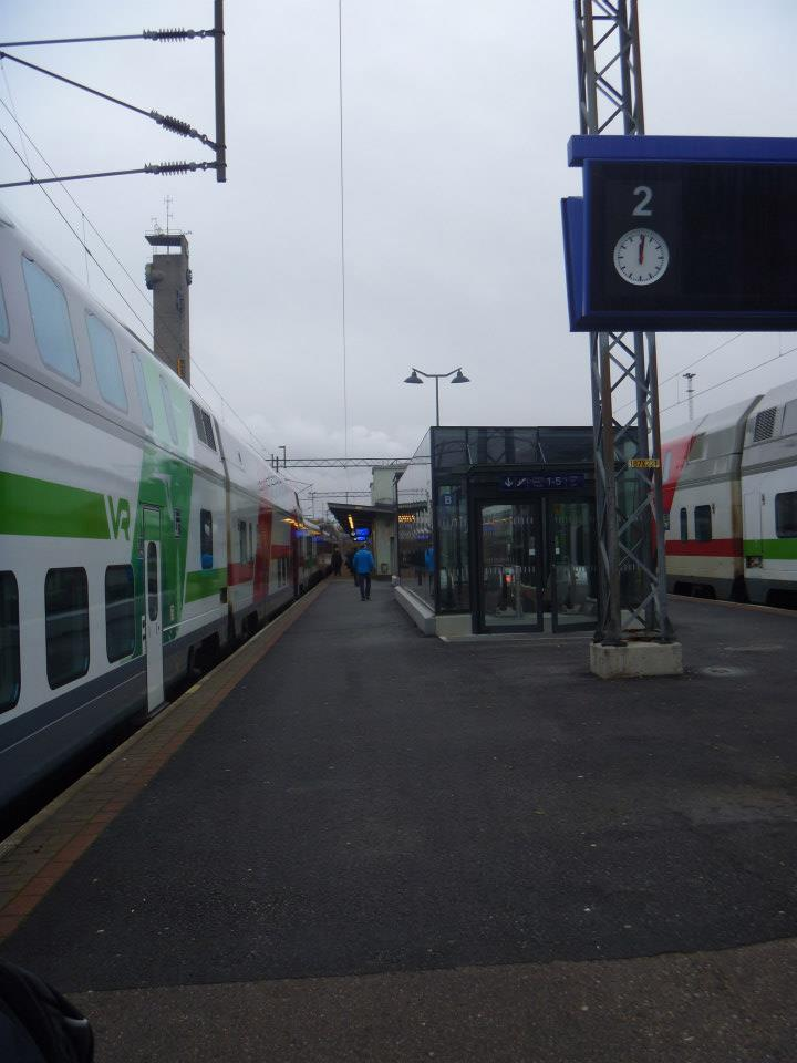 Tampere Train station