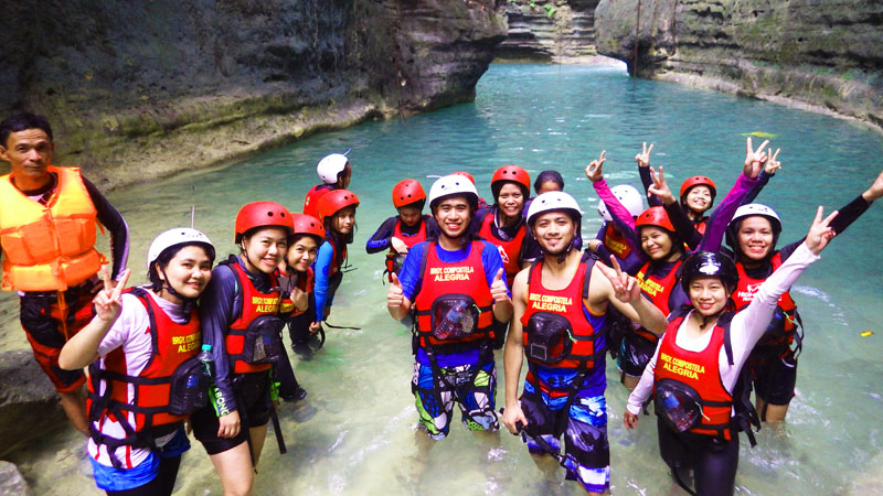 Surviving a Canyoneering Adventure in Badian, Cebu