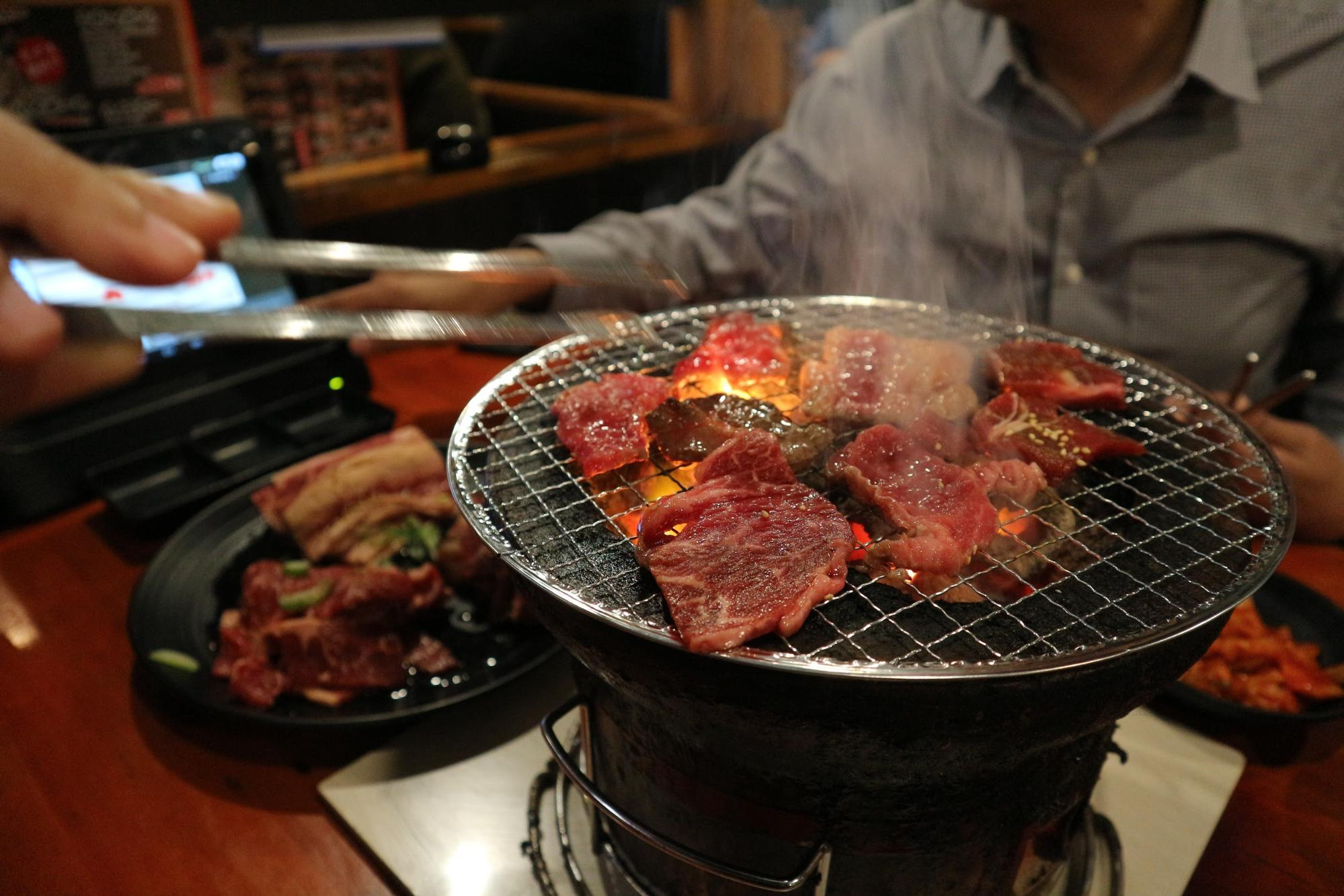 yakiniku japanese food