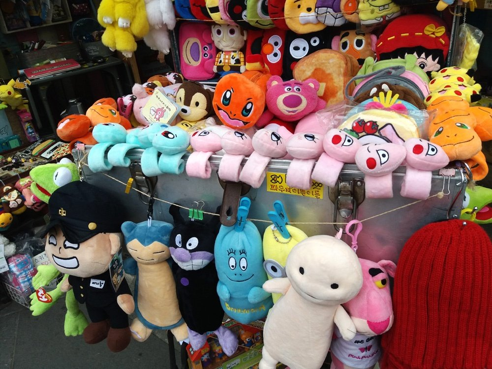 buy these stuffed toys as pasalubong from korea