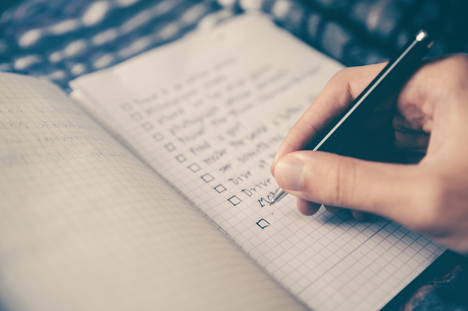 make a checklist to increase your chances of visa approval